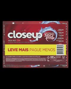 Creme Dental Closeup Red Hot C/6 Unidades 90g L+P-