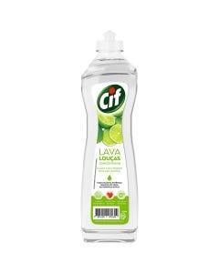 Lava Louça Liquido Concentrado Cif Limão 420mL
