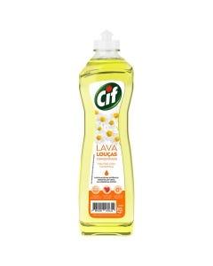 Lava Louça Liquido Concentrado Cif Camomila 420mL