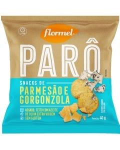 Snack Flormel Paro Parmesão Gorgonzola Sem Glúten 40g