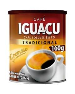Café Solúvel Iguaçu Tradicional Lata 160g