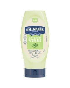Maionese Hellmanns 335g Verde Squeeze