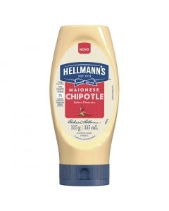 Maionese Hellmanns 335g Chipotle Squeeze