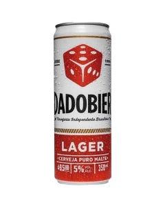 Cerveja Dado Bier Puro Malte 350mL