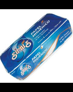 Papel Higiênico Sirius Folha Simples 30m C/8