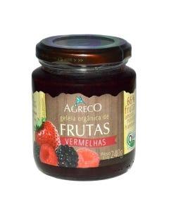 Geleia Agreco Orgânico Frutas Vermelhas 240g